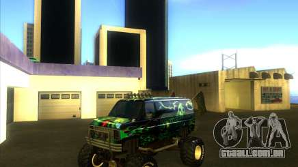 Ford E-250 monster truck 1986 para GTA San Andreas