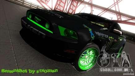 Ford Shelby GT500 Falken Tire para GTA San Andreas