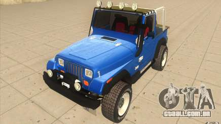 Jeep Wrangler 4.0 Fury 1986 para GTA San Andreas