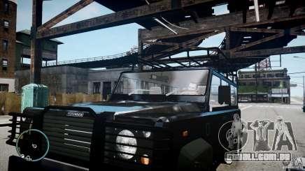 Land Rover Defender para GTA 4