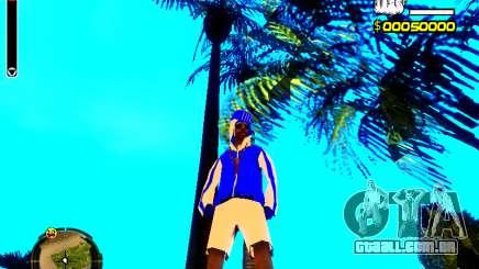 Pele vagabundo v4 para GTA San Andreas