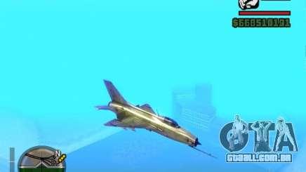 MIG 21 novo para GTA San Andreas