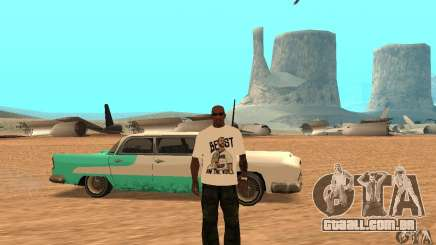T-shirt do WWE CM Punk para GTA San Andreas