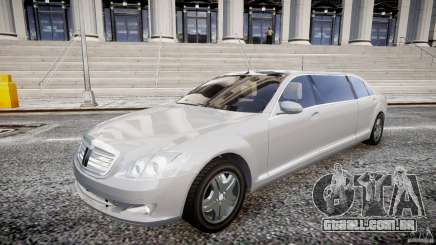 Mercedes-Benz S600 Guard Pullman 2008 para GTA 4
