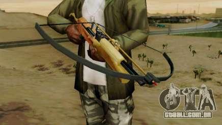Uma besta de trabalho com as setas para GTA San Andreas