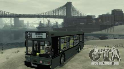 MAZ 103 ônibus para GTA 4