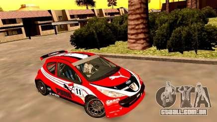 Peugeot 207 S2000 Puma para GTA San Andreas