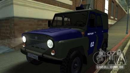 Polícia de 3151 UAZ para GTA San Andreas