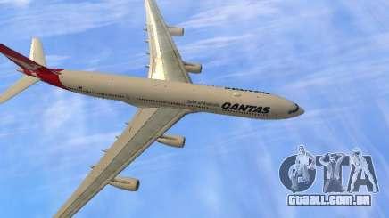 Airbus A340-300 Qantas Airlines para GTA San Andreas
