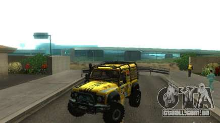Land Rover Defender Off-Road para GTA San Andreas