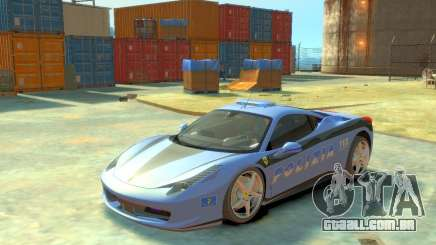Ferrari 458 Italia Police para GTA 4