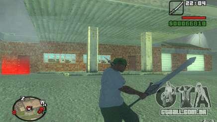 Espada de Dante do DMC 3 para GTA San Andreas