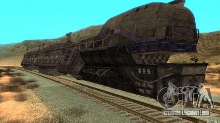 Um trem do jogo Aliens vs Predator v1 para GTA San Andreas