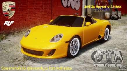 Ruf RK Spyder v0.8Beta para GTA 4