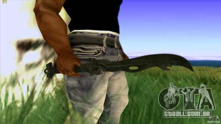 Chinese Knife from Far Cry 3 para GTA San Andreas