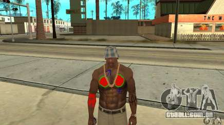Tatuagem legal no CJ-eu no corpo para GTA San Andreas