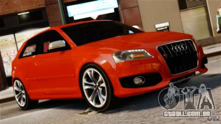 Audi S3 2010 v1.0 para GTA 4