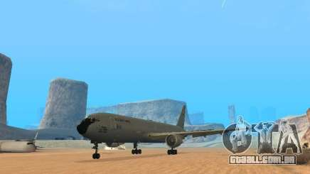 Boeing KC767 U.S Air Force para GTA San Andreas