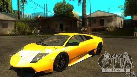 Lamborghini Murcielago LP 670 SV para GTA San Andreas