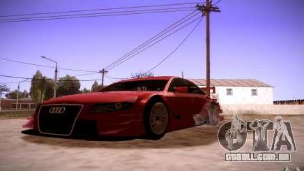 Audi A4 DTM para GTA San Andreas