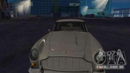 O Aston Martin DB5 белый para GTA San Andreas