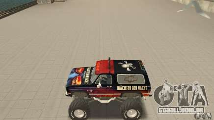 Chevrolet Blazer K5 Monster Skin 5 para GTA San Andreas