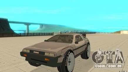 DeLorean DMC-12 (BTTF1) para GTA San Andreas