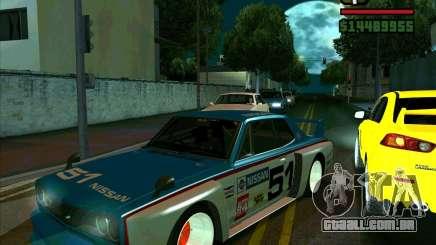 Nissan Skyline 2000gtr para GTA San Andreas