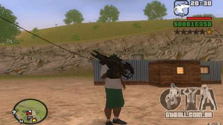 Lançador de foguetes de protótipo para GTA San Andreas
