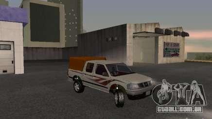 Nissan Pickup-branco para GTA San Andreas