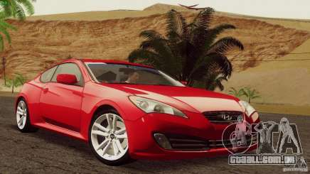Hyundai Genesis Tunable para GTA San Andreas