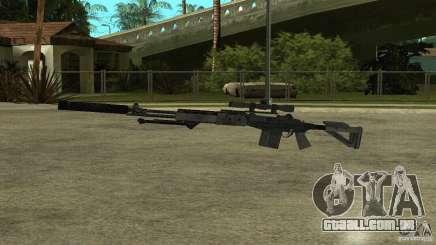 EBR MK14 com silenciador para GTA San Andreas