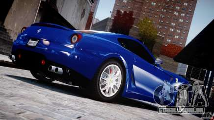 Ferrari 599 GTB Fiorano para GTA 4