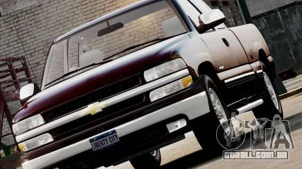 Chevrolet Silverado 1500 2000 para GTA 4