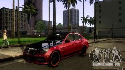 Mercedes Benz E63 DUB para GTA San Andreas