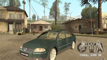 Volkswagen Passat B5 W8 4Motion para GTA San Andreas