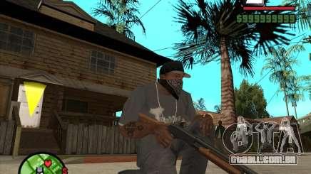 Chromegun para GTA San Andreas