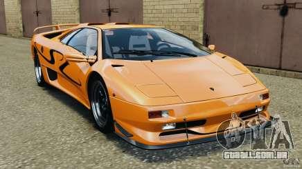 Lamborghini Diablo SV 1997 v4.0 [EPM] para GTA 4