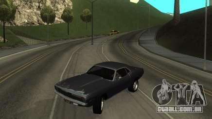 1970 Plymouth Baracuda para GTA San Andreas