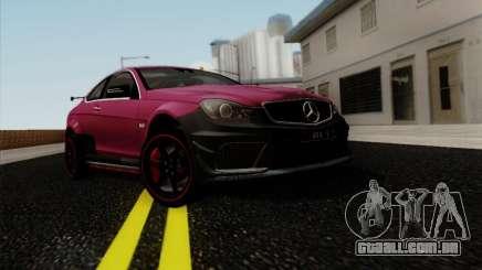 Mercedes Benz C63 AMG Coupe Presiden Indonesia para GTA San Andreas
