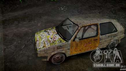 Volkswagen Golf Mk2 GTI Rat-Look para GTA 4