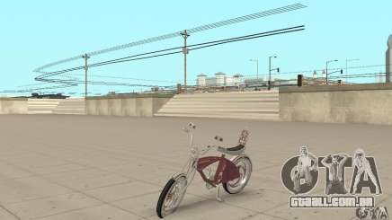 Lowrider Bicycle Custom Version para GTA San Andreas