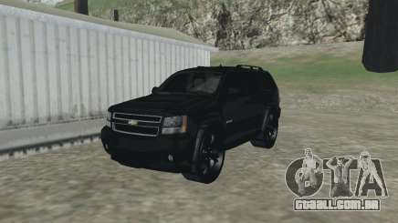 Chevrolet Tahoe BLACK EDITION para GTA San Andreas