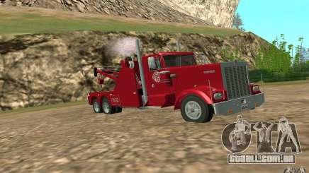 Kenworth Towtruck para GTA San Andreas
