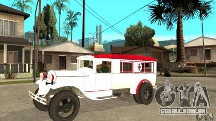 Ambulância de GAZ AA para GTA San Andreas