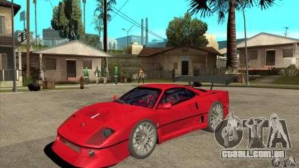 Ferrari F40 2000 Extreme para GTA San Andreas