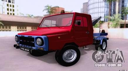Caminhão de reboque de LuAZ 13021 para GTA San Andreas
