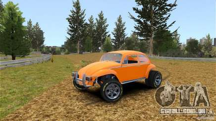 Baja Volkswagen Beetle V8 para GTA 4