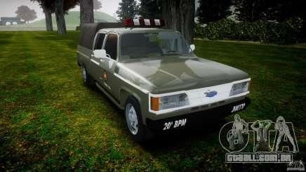 Chevrolet D20 Brigada Militar RS para GTA 4