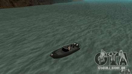 GTAIV Dinghy para GTA San Andreas